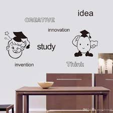 Words To Decorate Your Wall With Creative Idea Study Innovation Think Invention English Words Wall