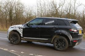2018 land rover car. plain land range rover evoque u2013 new spy pics show wider mk2 platform to 2018 land rover car h