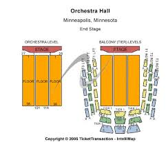 Orchestra Hall Mn Seating Chart