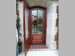 replace entry door with combination