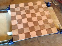 Homemade Wooden Board Games How to Build a Chess and Checkerboard 68