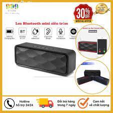 Loa Bluetooth Mini Để Bàn Âm Siêu Trầm, Siêu Ấm, Tích Hợp Loa Kép Cho ÂM  Thanh Sống Động, Sắc Nét - Bảo Hành 6 Tháng chính hãng 125,000đ