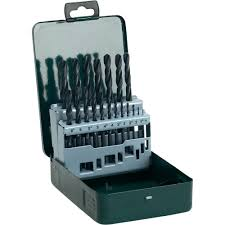 bosch drill bit set. hss metal twist drill bit set 19-piece bosch accessories