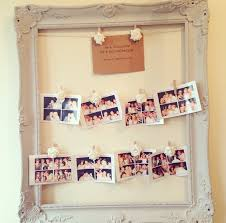 How To Make A Wedding Seating Chart Diy Wedding Seating Plan Photo Frame Tutorial The Home