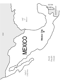 Small Picture Map Of Mexico Coloring Book Coloring Coloring Pages