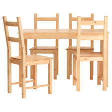 table and chairs. IKEA INGO/IVAR Table And 4 Chairs Solid Pine; A Natural Material That Ages