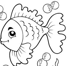 Disegni Di Pesci Da Colorare Per Bambini Zd24 Pineglen