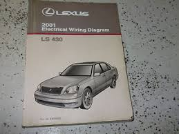 lexus ls ls electrical wiring diagram ewd service shop image is loading 2001 lexus ls430 ls 430 electrical wiring diagram
