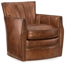 Swivel Club Chairs For Living Room Hooker Furniture Living Room Carson Swivel Club Chair Cc492 Sw 086
