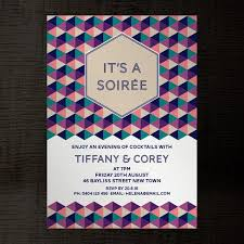 Soiree Indesign Template Party Invitation A5 For Birthday Etsy