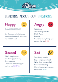 Feelings Chart For Kids Learning About Kids Feelings And Emotions Myfirstgym