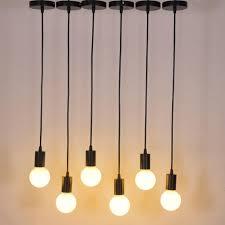 Light Bulb Socket Chandelier Us 4 45 7 Off Laideyi E27 Screw Ceiling Pendant Light Holder Chandelier Holder Socket Base Light Hanging Fitting With 1m Wire In Lamp Bases From