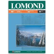 0102014 <b>Lomond Бумага</b> IJ <b>А4</b> (мат) <b>180г</b>/<b>м2</b> (50 л) (19/627)