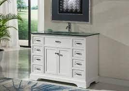 46 Inch Contemporary Style Single Sink Bathroom Vanity Model 2422 W Ebay