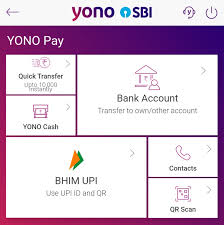 how to use yono sbi app from home