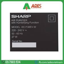 Máy Lọc Không Khí Tạo Ẩm Sharp KC-F30EV-W | Điện máy ADES