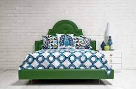 kelly green and navy bedding design ideas