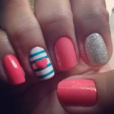 Cute nail polish designs - how you can do it at home. Pictures designs:  Cute nail polish designs for you |The Nail For You