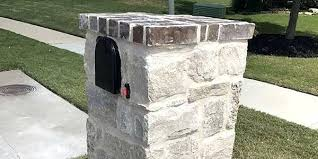 Brick Mailbox Designs Whether Looking For Column Mailbox Designs Or