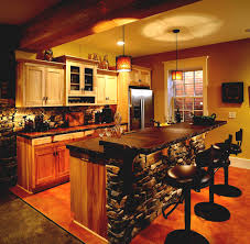 Charm Rustic Basement Bar Themoviegreen Basement - Rustic basement ideas