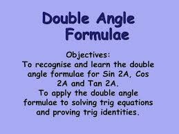 trig angle formulas math college maths core 4 double angle formulae math solver algebra