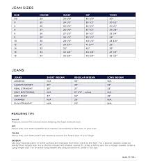 Gap Kid Sizes Chart Gap Kids Size Chart Swap The Largest Consignment And