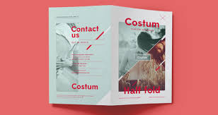 Costum Bi Fold Brochure Template