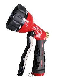 garden hose nozzle hand sprayer heavy duty 10 pattern metal watering nozzle high