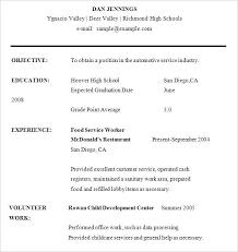 Sample Resume For High School Student Amazing 60 Awesome Sample Resume High School Student Bizmancan