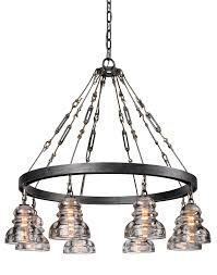 menlo park 8lt chandelier medium