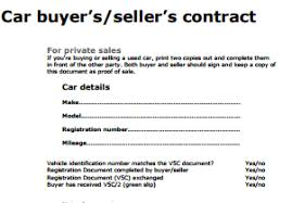 Vehicle Sale Receipt Template Private Car Sale Contract Template Writing A Receipt For A