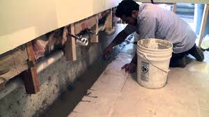 basement waterproofing exterior french drain or internal drainage system island basement systems you