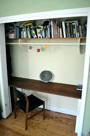 closet desk ideas amazing 10 to brings office into your closets small house decor with regard 19
