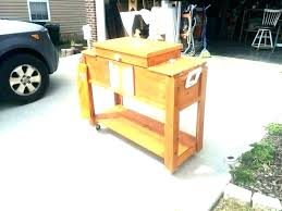 wooden patio cooler outdoor patio cooler patio coolers ice chests outdoor ice chest wood patio ice wooden patio cooler