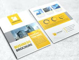 Free Tri Fold Brochure Templates Word Classy One Fold Brochure Template Templates Bi Indesign Free Danilenko