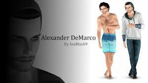 Alexander Demarco Sims 3 Updates Simtech Alexander Demarco By Inamac69
