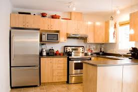 Maple Kitchen Cabinets Contemporary Natural Maple Kitchen Cabinets
