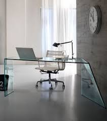 office glass desks. The Penrose Desk Is A Luxurious Glass By Italian Expert Tonelli Design And Designed Isao Hosoe. Office Desks R