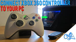 how to connect xbox 360 controller to pc wireless wired windows 10 8 7 vista xp you