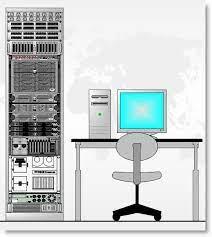server rack with microsoft visio 2010