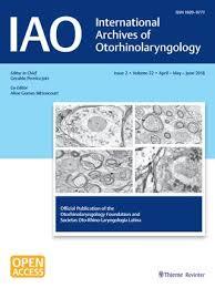 International Archives Of Otorhinolaryngology By