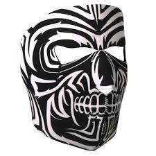 Mask Designs Full Face Neoprene Face Mask Motorcycle Face Mask Design Skull Face Mask Fma1025