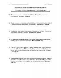 Unit Conversion Worksheets Worksheet Fun And Printable