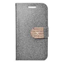 Flip Cover for Celkon Q44 - Silver by ...