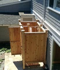 outdoor shower stall outdoor shower stall cedar outdoor showers enclosures ct fl outdoor shower kit outdoor outdoor shower