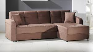 Plain Sectional Sofa Bed With Storage Vision Rainbow Truffle By Sunset To Inspiration Decorating