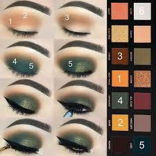 green eyeshadow for winter