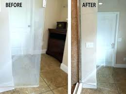 cleaning shower doors with wd40 cleaning glass shower doors before and after glass shower door cleaning