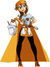 clipart cleaning lady clipartfox cleaning servicesisuperclean
