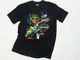dublin harley davidson evil leprechaun rider t shirt ebay